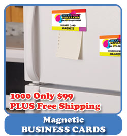 cheap magnetic business cards