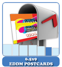 5000 6.5x9 eddm postcards cheap
