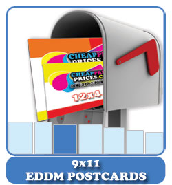 9x11 eddm postcards cheap