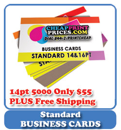 Cheapest Business Card Pries