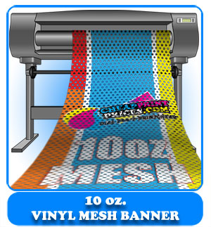 10oz Mesh Banners Cheap