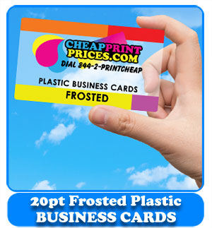 Cheap business cards cheapprintprices frosted plastic business cards cheap colourmoves
