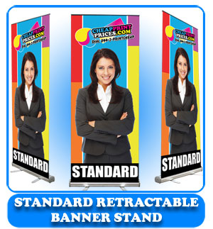 23x66 standard retractable banner stand