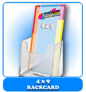 cheapest rack card prices 4x9