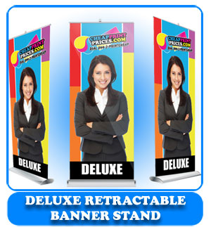 33x81 deluxe retractable banner stand