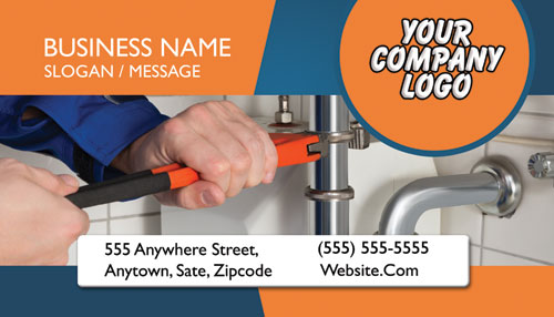Plumbing Business Cards 5000 For 6500 Free Shipping