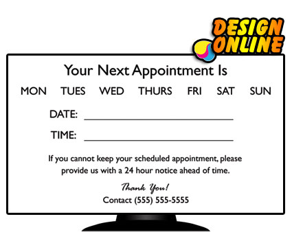 Horizontal layouts back cheapprintprices appointment 01a cheapest prices on business cards colourmoves